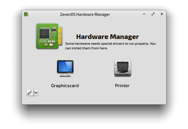 ZevenOS-Hardwaremanager